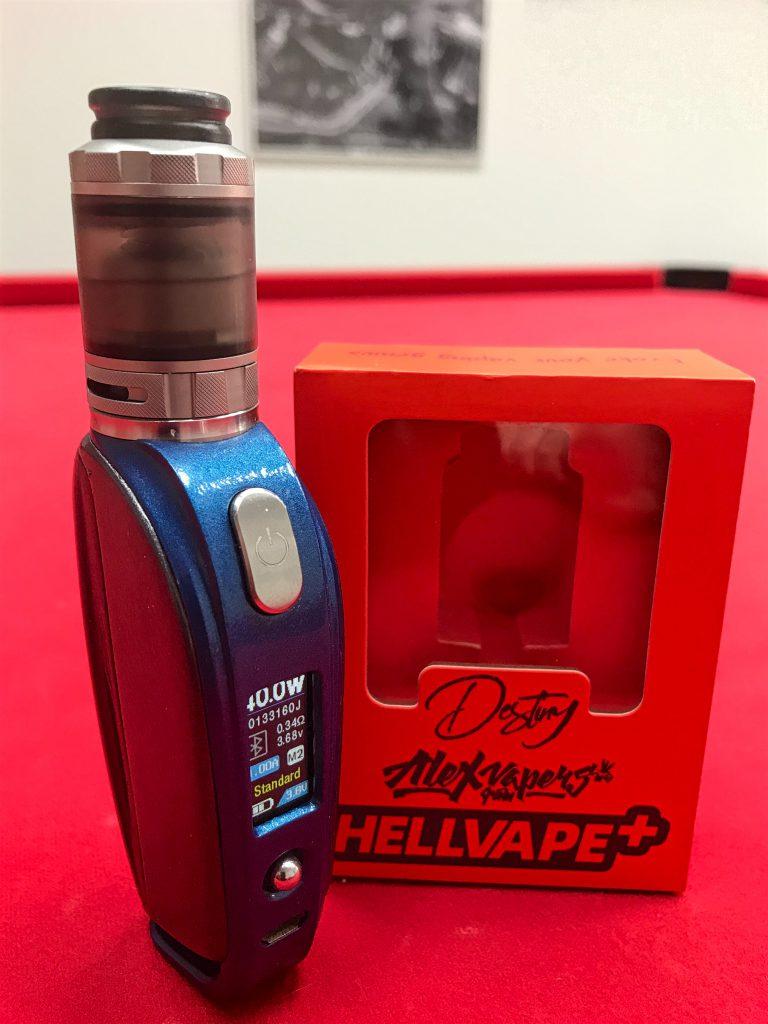 Hellvape x Alex from Vapers MD Destiny RTA – proste, a może być super