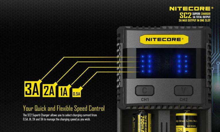 Nitecore SC2 – szybko i sprawnie