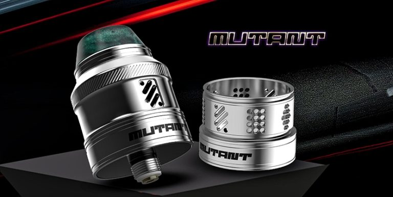 Mutant RDA – vaping with twisted 420 has returned xD