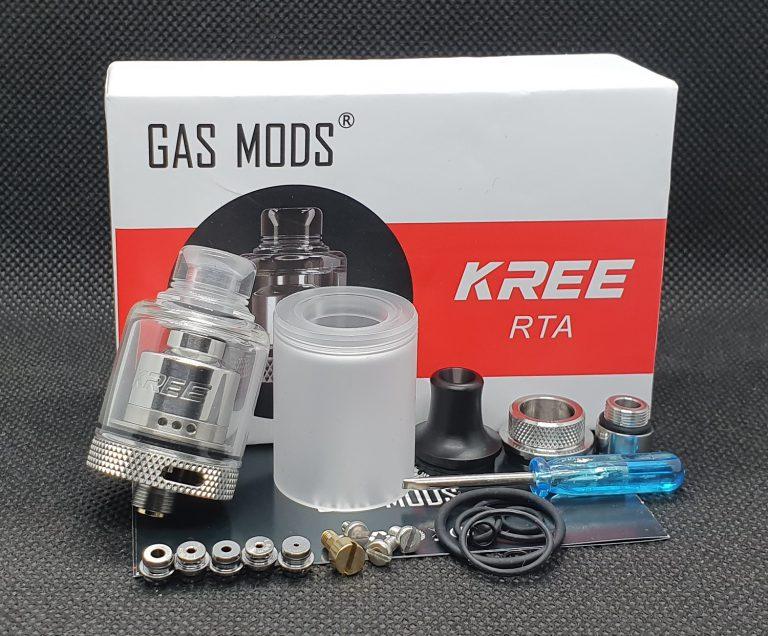 Gas Mods Kree RTA – mega smakowiec za mini pieniądze