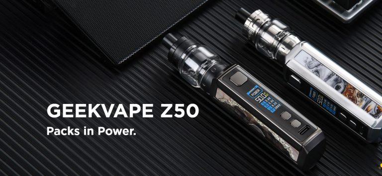 Geekvape Z50 – nowości ciąg dalszy