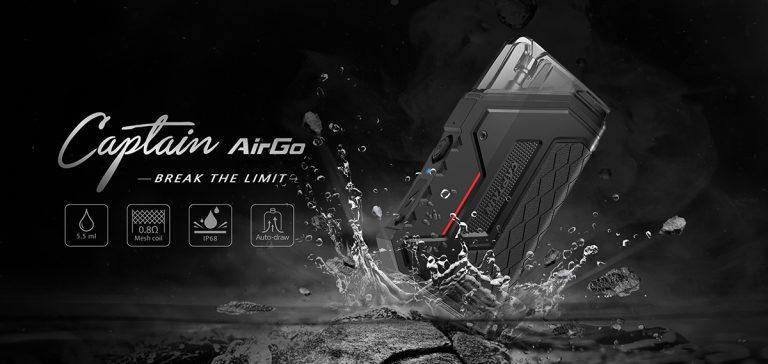 IJOY Captain AirGo- IP68 i niewielki rozmiar: połączenie idealne?