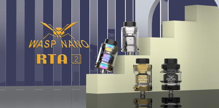 Oumier Wasp Nano RTA V2- lepszy od poprzednika?
