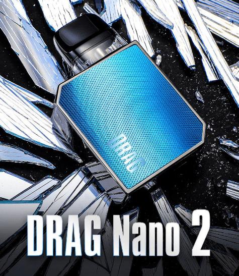 Voopoo Drag Nano 2 – kultowy powrót !