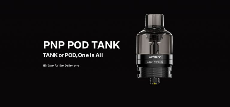 VOOPOO PnP Pod Tank – dla tych co wolą 510